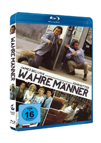 Real Men (1987) [ Blu-Ray, Reg.A/B/C Import - Germany ]