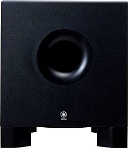 yamaha hs10w studio monitor subwoofer 150 watts 8 inch xlr and trs phone jack inputs. Black Bedroom Furniture Sets. Home Design Ideas