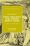 img - for Thou Gracious God, Whose Mercy Lends: For Mixed Choir (SATBARB) and Piano book / textbook / text book