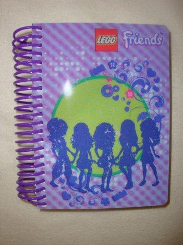 Lego Friends Notizblock 200 Blatt, Größe 14