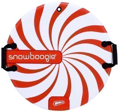 NEW-WHAM-O-neige-Boogie-Air-Disque-635cm-Luge-Thunder-en-mousse-Soucoupe-neige-Slider