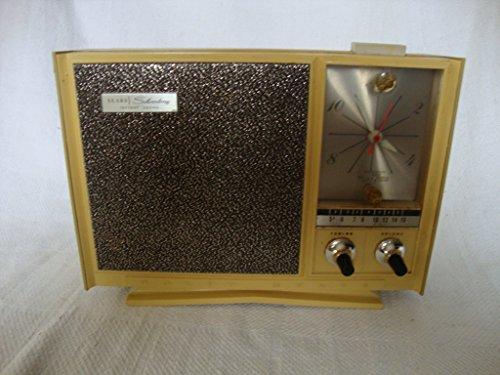 antique-sears-silvertone-clock-radio