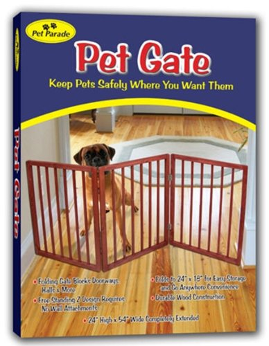 Pet Parade Folding Pet Gate