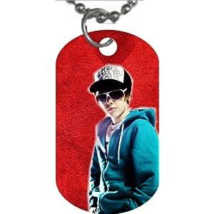 Justin Bieber Dog Tag dogtag (merchandise, memoriblilia)