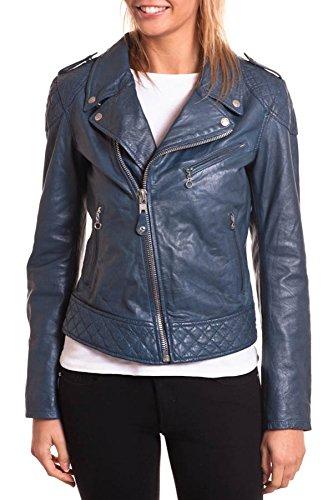 Schott NYC Damen Jacke LCW2600, Gr. 34/36 (S), Blau (navy) bestellen