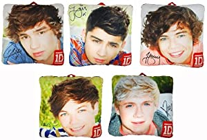 1d One Direction Photo 10 Collectible Pillow Set Of 5 by Commonwealth Toys