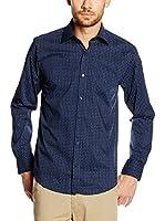 Pedro del Hierro Camisa Hombre (Azul Marino)