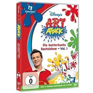 Art Attack - Die kunterbunte Bastelshow, Vol. 1 (2 DVDs)