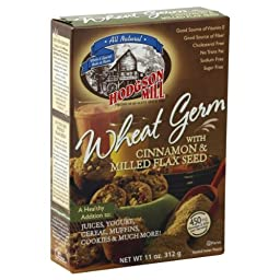 Hodgson Mill Wheat Germ with Cinnamon Flax Seed, 11-ounces (Pack of6)