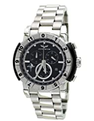 Corvette #CR-276C Men's Stingray Collection Stainless Steel Swiss Chronograph Watch