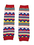 KWC - American Indian Tribal Colorful Baby Toddler Leg Warmer (Mountain Range)
