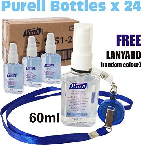 24-x-purell-hygenic-hand-sanitizer-gel-rub-60ml-personal-pump-bottles