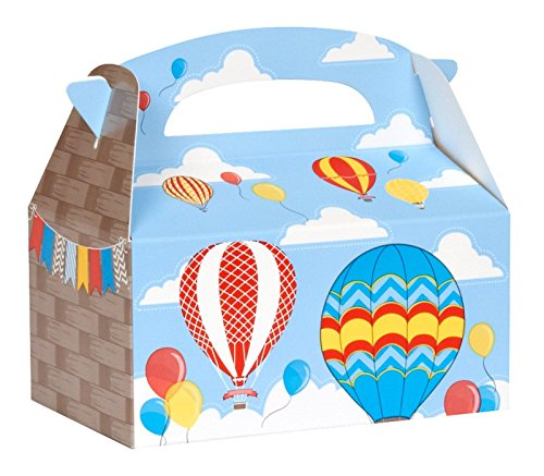 Hot Air Balloon Party Empty Favor Boxes (4)