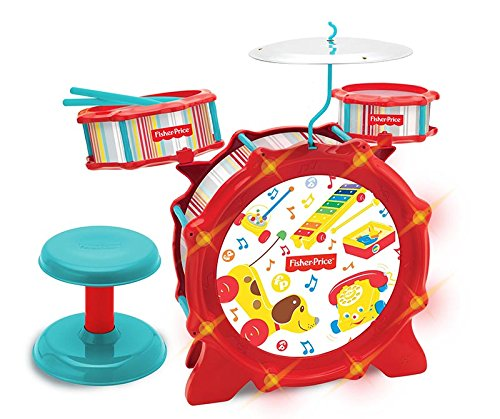 Fisher Price KFP1749A Big Bang Drumset with Lights Toy (Fisher Drum Set compare prices)