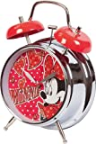 Disneys Alarm Clock Minnie sparkeling- analog - quartz - 10cm