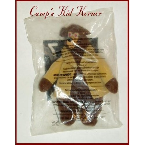 1 X Country Bears #7 Ted Bedderhead 2002 McDonalds Happy Meal Toy Walt Disney Brown Bear - 1