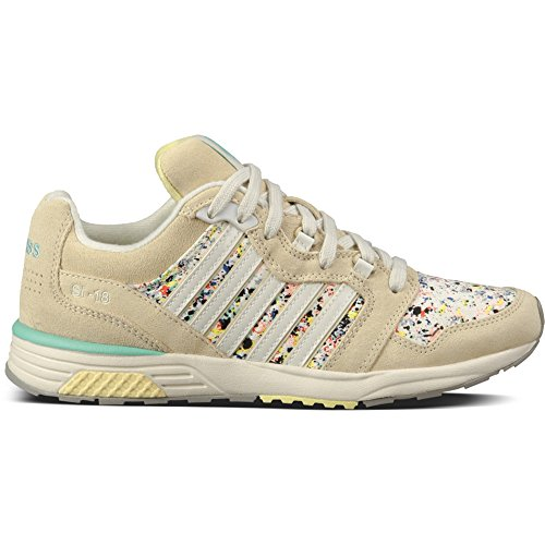 K-Swiss SI-18 Rannell 2 Womens Sneakers Oyster Gray/Bone/Paloma 11