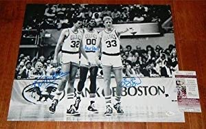 Larry BIRD, PARISH Kevin McHALE Signed BOSTON CELTICS 16x20 photo JSA COA H95878 -... by Sports Memorabilia