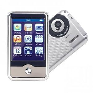 APPAREIL PHOTO et LECTEUR MUTIMEDIA MP4 MP3 avec ÉCRAN TACTILE - 4 GO