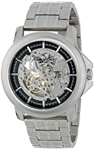 Kenneth Cole New York Men's KC9280 Automatic Silver Dial Bracelet Watch