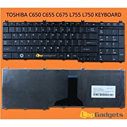 Lap Gadgets Laptop Keyboard For Toshiba Satellite L755D-S5348 6 months warranty with Free Keyboard Protector Skin by Lap Gadgets