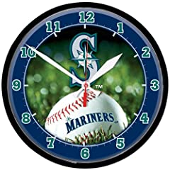 Seattle Mariners Wall Clock by WinCraft