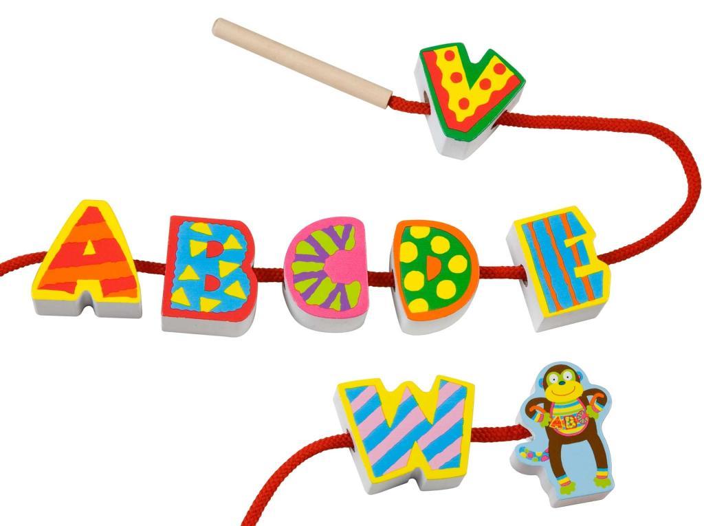 Amazon.com: ALEX Toys Little Hands String My ABC's: Toys & Games