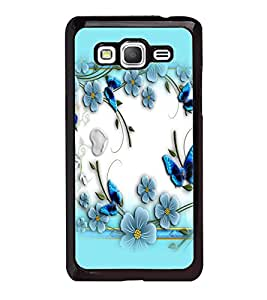 printtech Butterfly Flowers Back Case Cover for Samsung Galaxy Grand Prime G530h