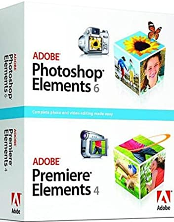 Adobe Photoshop Elements 6 + Premiere Elements 4  (1 poste)
