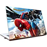 Tamatina Laptop Skins 15.6 Inch - Spider-Man - Homecoming - Spider-Man & Iron Man - Hollywood Movie - HD Quality - Dell-Lenovo-HP-Acer