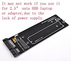 3.5 inch Sata Adapter for SSD from Macbook air 2012 Mid Version & Macbook Pro Retina Mid 2012 Version