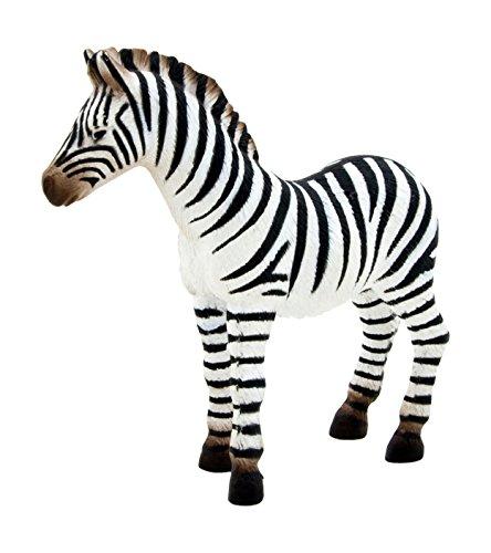 Mojo Fun 387016 Zebra Foal - Realistic International Wildlife Toy Replica - 1