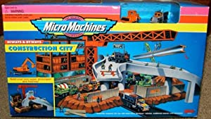Micro Machines Construction City Hiways & Byways Playset