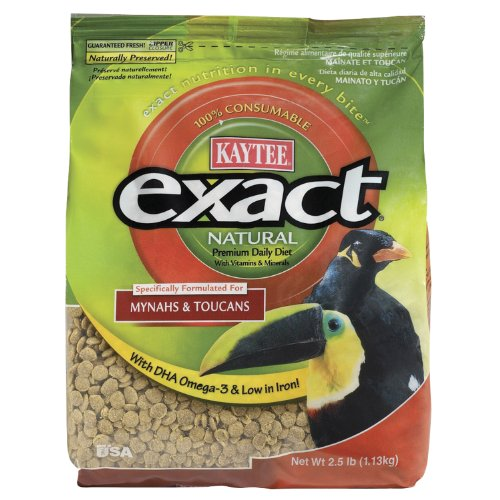 Cheap Kaytee Exact Natural Treats for Mynah and Toucan, 2-1/2-Pound (KT46221)