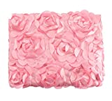 Ubesta Fashion recién nacido 3d fotografía Photo Props rosas fondo manta rug-pink