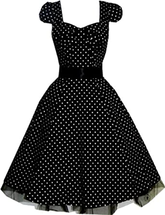 Pretty Kitty Black Polka Dot