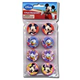 Disney Mickey Clubhouse Mickey and Friends 8pk Round Sharpeners