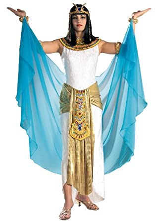 Rubie's Costume Grand Heritage Collection Deluxe Cleopatra Costume, White, Medium