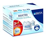 【限定増量パック!】ブリタ(BRITA)マクストラ (MAXTRA) 本家本元ドイツのBRITA浄水器ポット交換用カートリッジ 3個プラス1個で合計4個入りセット
