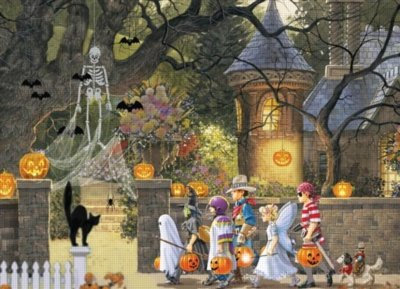 Cheap Outset Media Halloween Buddies (400 Piece Puzzle) (B004XRR9AK)