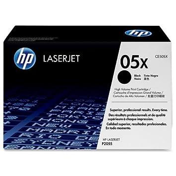 Cartouche de toner originale HP 05x CE505X HP Laserjet P2035 P2035N P2055 P2055D P2055DN P2055X (6.500 pages)