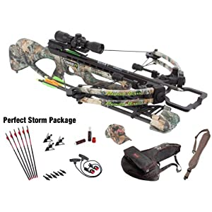 Parker Compound Bows 12 Tornado F4 165# Crossbow Pkg W Ill M.R. Scope Perfect Storm by Parker