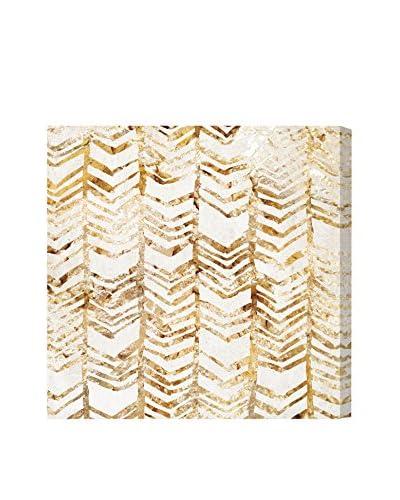 Oliver Gal Season Glitter Canvas Art