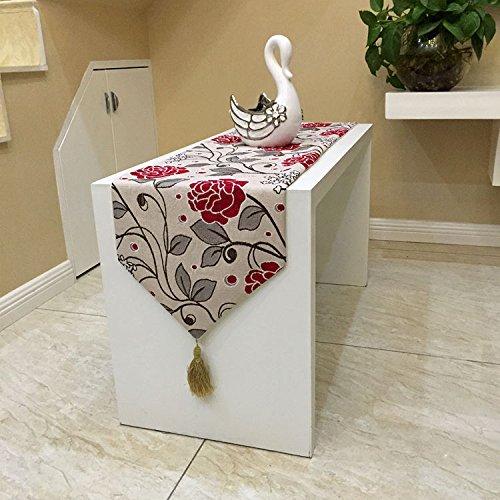 rosa-in-ciniglia-piccoli-fiori-freschi-tavolino-divano-tabella-semplice-tabella-elegante-runner-deco