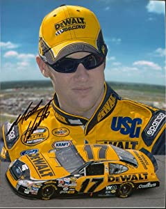 Matt Kenseth Autographed 8x10 Photo by Memorabilia