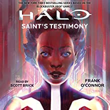 Saint's Testimony: HALO (       UNABRIDGED) by Frank O'Connor Narrated by Scott Brick