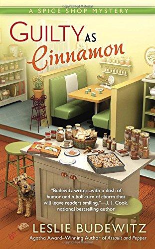Guilty as Cinnamon (Spice Shop Mystery, #2)