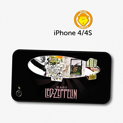 Led Zeppelin Collage Album Covers Case For Iphone 4 4S A5649