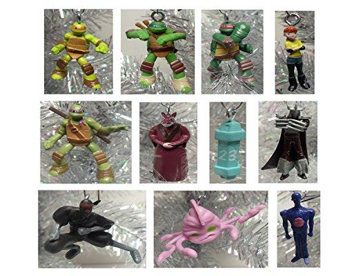 Teenage Mutant Ninja Turtles 12 Piece Holiday Christmas Tree MINI 1