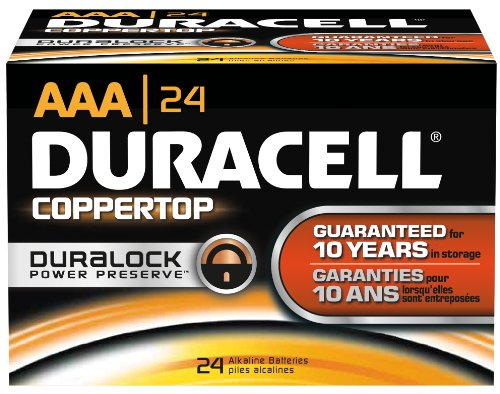 Duracell Coppertop Aaa 24 Pack Mn2400Bkd